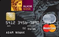 Wizerunek karty debetowej w Alior Banku